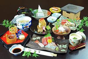 Tokaido Okitsu accommodation cooking inn Oka-ya