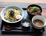 Aセット 豚丼とつけ麺