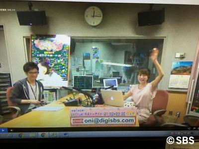 SBSラジオテキトーナイト無事今夜も放送終了