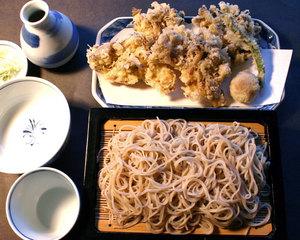 Closing a bargain Juwari soba soba restaurant comes and looks at Shiga