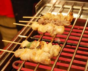Shizuoka Golden bystreet barbecued chicken spirit