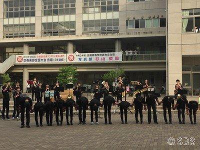 今夜8時からのSBSラジオテキトーナイト 静岡学園吹奏楽部3年最後の演奏