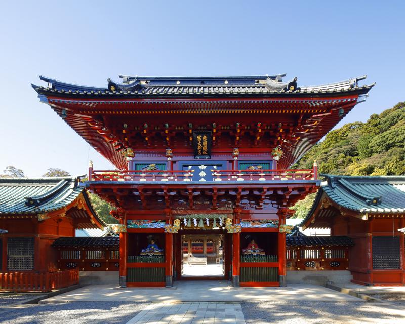 Shizuoka Asama Shrine New Year's visit to a Shinto shrine