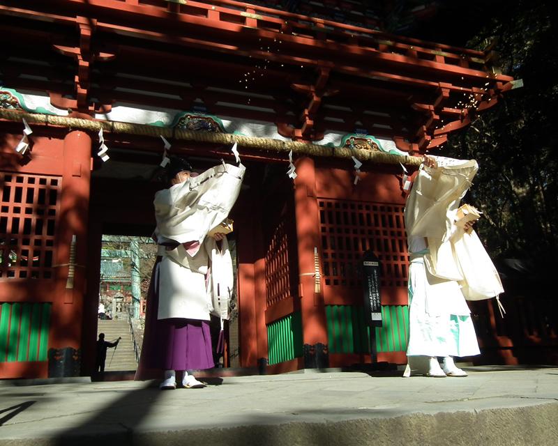 [only as for the Shinto ritual] Mt. Kuno Toshogu Setsubun festival