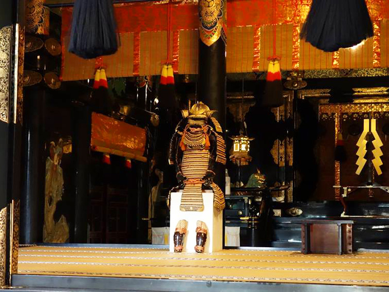 Mt. Kuno Toshogu spring big festival