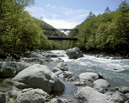 Southern Alps, Igawa Oi River source identification ward fishing ground