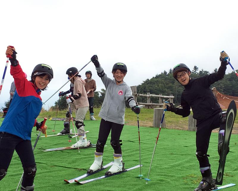 ribaueru Igawa skiing area summer ski slope 2021