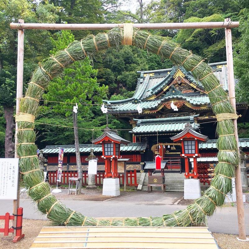 静岡浅間神社 夏越大祓式・大茅の輪くぐり神事
