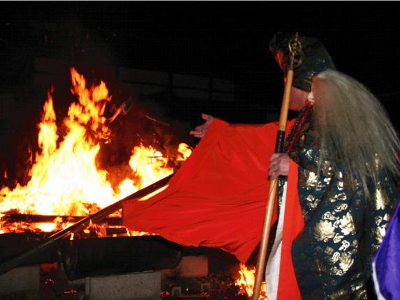 火防大祭 秋葉の火祭り