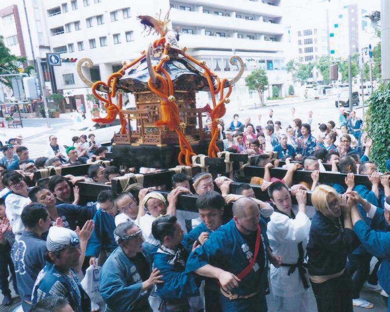 靜岡城市神轎