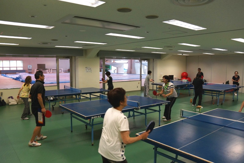 Enjoyment classroom table tennis