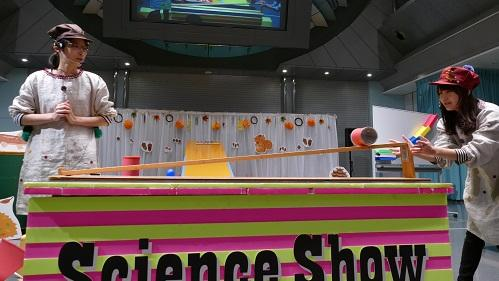 Shizuoka Hall of Science ru, ku, ru science show [December]