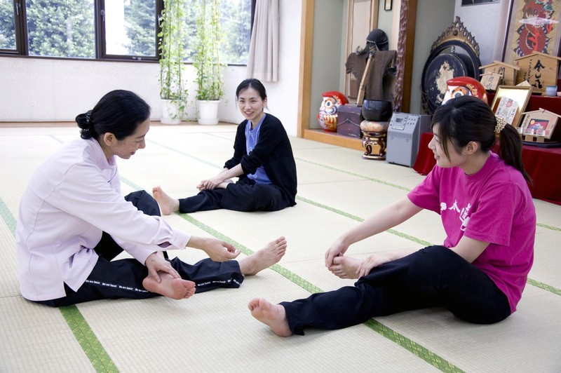 """Training of mind"" to be said to be Omoto of qigong briefing session/trial lesson is held"