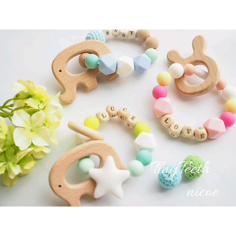[Tinyteeth teething stick] Workshop! Present which is only one from mom in the world