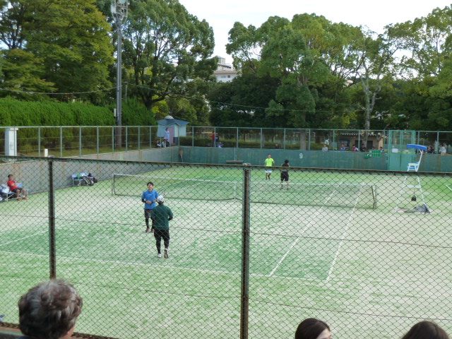 The 38th Shizuoka club opposition tennis tournament