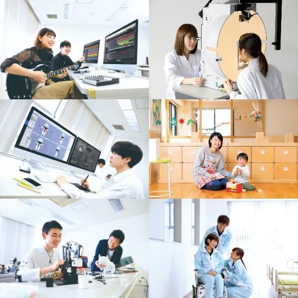 Shizuoka welfare medical care technical school/technical school Shizuoka electronic intelligence college opening campus!