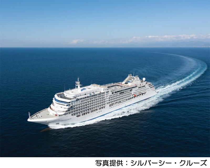 "Call at a port first in luxurious passenger liner ""silver MUSE"" Shimizu Port! <October 20, 2019>"