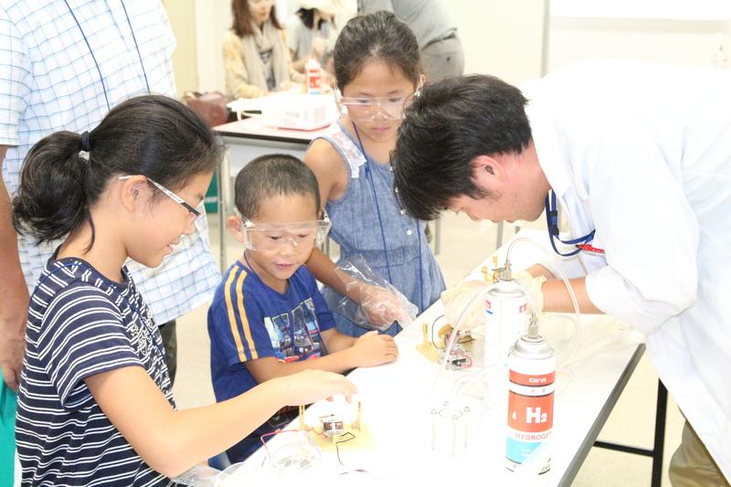 Hydrogen energy parent and child experience classroom <Shizuoka venue>