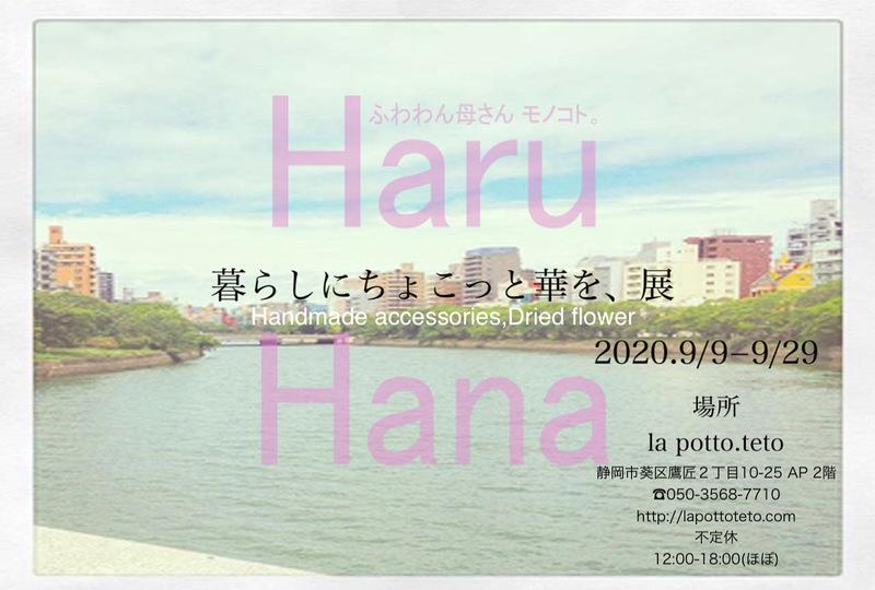 It is ten with bloom for Haru Hana living a little