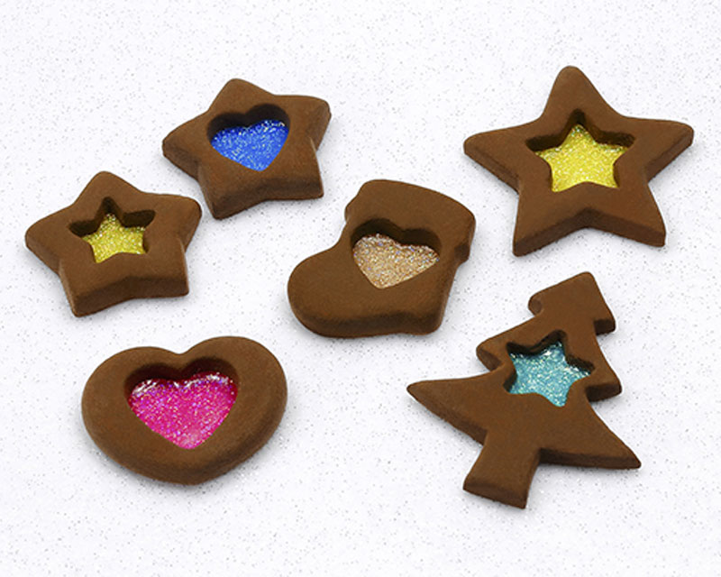 "Shizuoka hobby square TAMIYA sweets decorations production experience ""stained glass cookie Christmas version"" <December 6, 2020>"