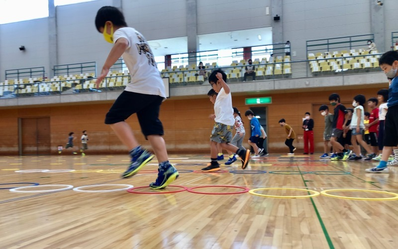 [object raw for elementary school 1-3 years] Kids exercise classroom (3/10)