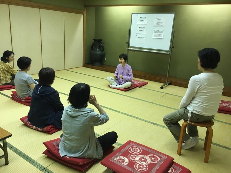 Refreshing qigong exercises experience
