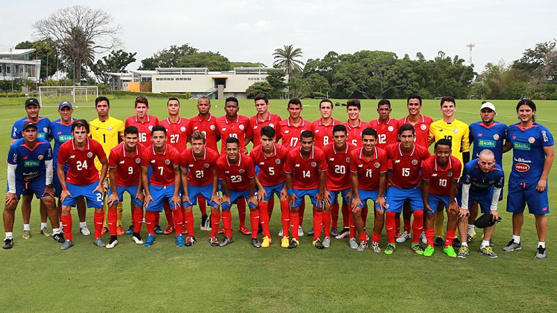 buy popular c14c6 926c3 U-19 Costa Rica National Team | 2016 SBS International Cup